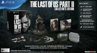 The Last of Us Part II 2 Collector's Edition PS4 Playstation 4 NEVER OPENED