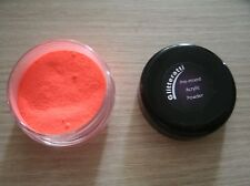 Glitteratti 68 Red Fluorescent Black Light Glow  - Pre-Mixed Acrylic Powder NSI
