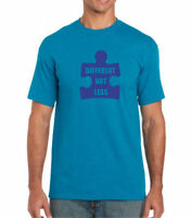 Different Not Less Shirt Autism Awareness T-Shirt Autism Dad Tee Fathers Day