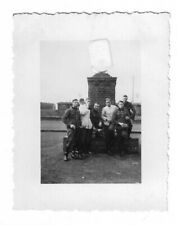 Foto, Soldatengruppe in Uniform, Lager, Foto aus Eltville, Rhein