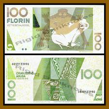 Aruba 100 Florin, 2012 P-19c Frog Unc