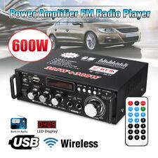 BRAND NEW SEALED 12V/ 220V BT-298A 2CH LCD Display HIFI Audio Stereo Power Amp