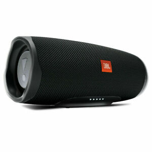 JBL Charge 4 Portable Bluetooth Speaker-Black-Mint