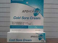 Apohealth Cold Sore Cream 5g equivalent to Zovirax  (TWICE THE SIZE AND CHEAPER)