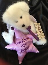 Boyds Bears Plush 'Angie B. Loved' Daughters Are Angels #903059 With Tags!