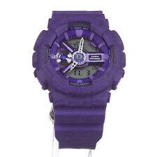 Casio G-Shock GMAS-110HT-6A Sportswear Purple Heather Print Ladies Watch