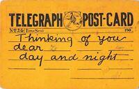 Postcard Telegraph Post Card