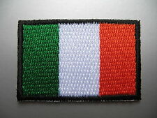 IRISH FLAG Small Iron On / Sew On Patch Badge Ireland Éire bratach na hÉireann