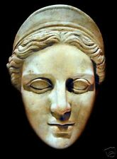 Artemis the Goddess Greek Roman art stone sculpture tile mask home garden decor