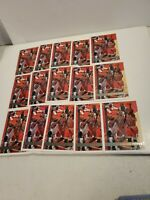 (15) 1997-98 TOPPS #1 SCOTTIE PIPPEN CHICAGO BULLS Last Dance