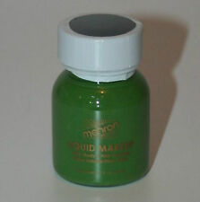Green Liquid Makeup Body and Hair Mehron Fast Shipping Theatrical Makeup 1 oz