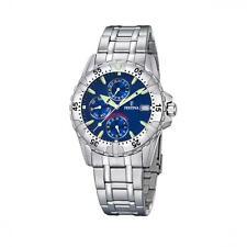 Festina 100 m (10 ATM) Sportliche Armbanduhren mit 12-Stunden-Zifferblatt
