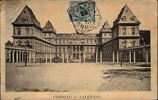 Cartolina Italien CASTELLO VALENTINO 1908 Postcard AK Italy Postcard