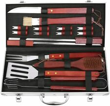 Bbq Grill Accessories Set,19-Pieces Stainless Steel Utensils, Outdoor Cooking Ac