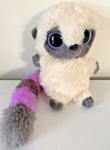 "Aurora Yoohoo Plush Lemur Lilac Gray Tail 5"" Stuffed Animal Toy"