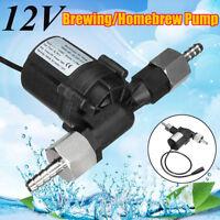 DC 12V Brewing Transfer Pump Beer Wort Mash Homebrew Plug Adapter