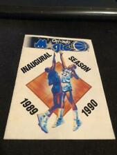 1989-90 Orlando Magic Basketball Pocket Schedule BUD Version Inaugural Season