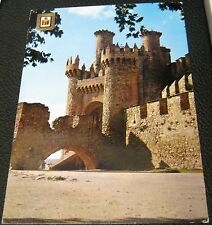 Spain Leon Ponferrada Castillo de los Templarios 1 - unused