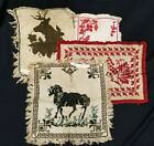 ANTIQUE NEEDLEPOINT TAPESTRY LOT OF 4