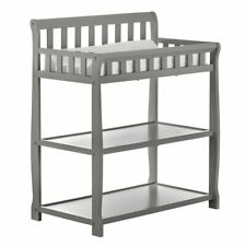 Dream On Me Ashton Changing Table in Steel Grey