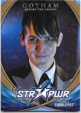Gotham Season 2 Str Pwr Star Power Card Oswald Cobblepott Gold CB14 15 / 25