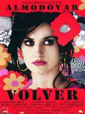 Affiche 40x60cm VOLVER 2006 Pedro Almodóvar - Penélope Cruz, Carmen Maura NEUV #