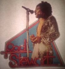 Vintage 70s Rod Stewart In Concert Iron-On Transfer Rock Star Sexy RARE!