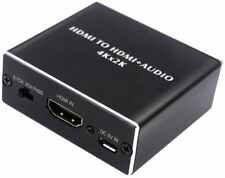 HDMI Audio Extractor HDMI to HDMI with Optical TOSLINK SPDIF  3.5mm Stereo Audio
