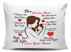 Personalised (Any Name) I Hugged This Soft Pillow Novelty Novelty Pillow Case