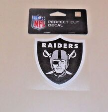 NFL OAKLAND RAIDERS  4 X 4 DIE-CUT DECAL OFFICIALLY LICENSED PRODUCT
