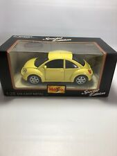 Miso Special Edition 1:25 Volkswagon New Beetle Yellow