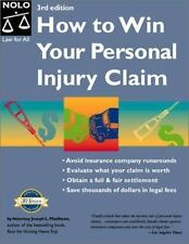 How to Win Your Personal Injury Claim, 3rd Ed-ExLibrary