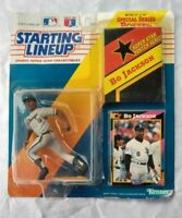 1992 BO JACKSON STARTING LINEUP SPORTS SUPER STAR ACTION FIGURE W POSTER & CARD