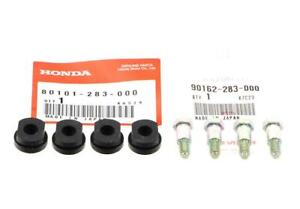 Honda CB 350 400 500 550 750 Four K Screws And Rubbers Set Number Plate Holder