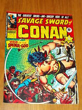 CONAN SAVAGE SWORD #14 BRITISH WEEKLY 1975 JUNE 7TH