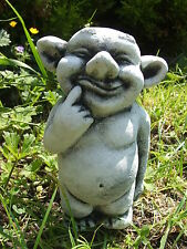 LATEX MOULD MOULDS MOLD.      CUTE GARGOYLE WITH FINGER TO MOUTH