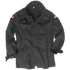 Mil-tec chaqueta corta Molesquín hombre Ejército Alemán seguridad Algodón L negro