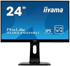 Iiyama Prolite xub2492hsu-b1 24 Pulgadas Monitor LED IPS - Full HD,5ms,ALTAVOCES