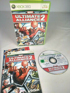 Xbox 360 - Marvel Ultimate Alliance 2 - With Manual - 2009 - FREE UK P&P