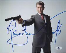 Beckett certified Pierce Brosnan signed photo not PSA DNA James Bond 007