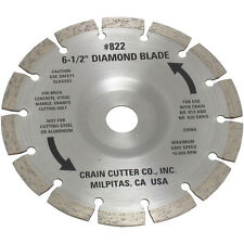 Crain 822 6-1/2-Inch Segmented Diamond Saw Blade for 812H Super Saw