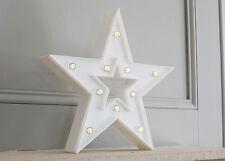 Blanco Iluminación LED Estrella De Navidad Navidad iluminación Decoración