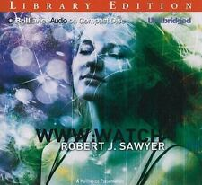 WWW: Watch  WWW Trilogy  2010 by Sawyer, Robert J. 1441844112 Ex-library