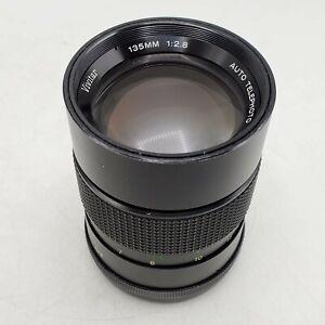 Vivitar 135mm F2.8 Telephoto Prime MF Lens for Nikon F SLR/Mirrorless Cameras