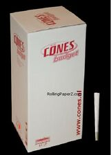 1000 BUDGET/WHOLESALE LOT/BULK PREROLLED CONES Rolling Papers KING SIZE 109mm