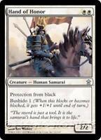 HAND OF HONOR Saviors of Kamigawa MTG White Creature — Human Samurai Unc
