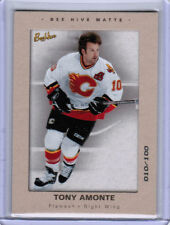 05/06 UD BEEHIVE BEE HIVE TONY AMONTE #16 MATTE PARALLEL 010/100 CALGARY FLAMES