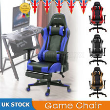 Luxury Office Chair High Back Racing Gaming Chair Lift Swivel Executive Recline