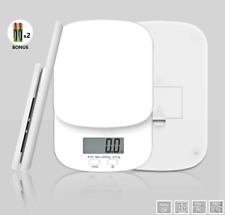 2kg / 0.1g Kitchen Digital Scale LCD LED Electronic Balance Food Weight Postal