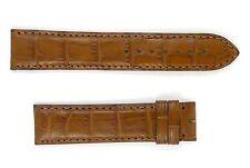 Authentic Cartier Tan Alligator 18mm Watch Strap